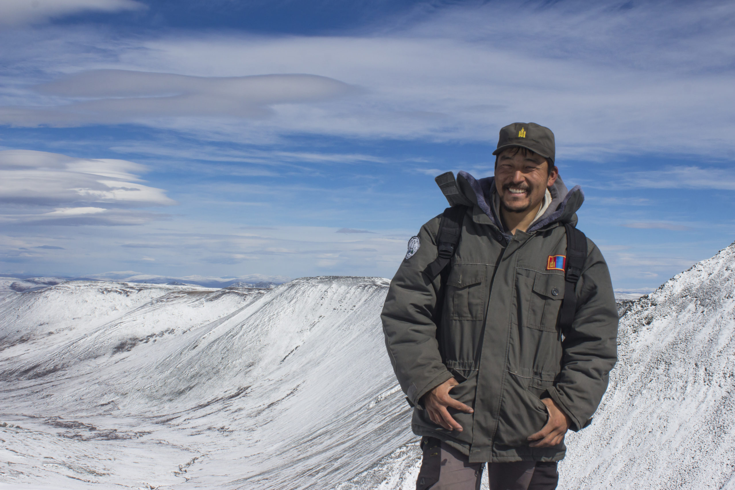 A joint effort to map the snow leopard across Mongolia