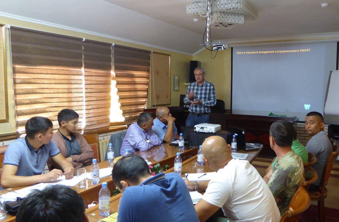 Session 5: Использование программы SMART (Инструмент пространственного мониторинга и отчетности) для управления и мониторинга популяции ирбиса