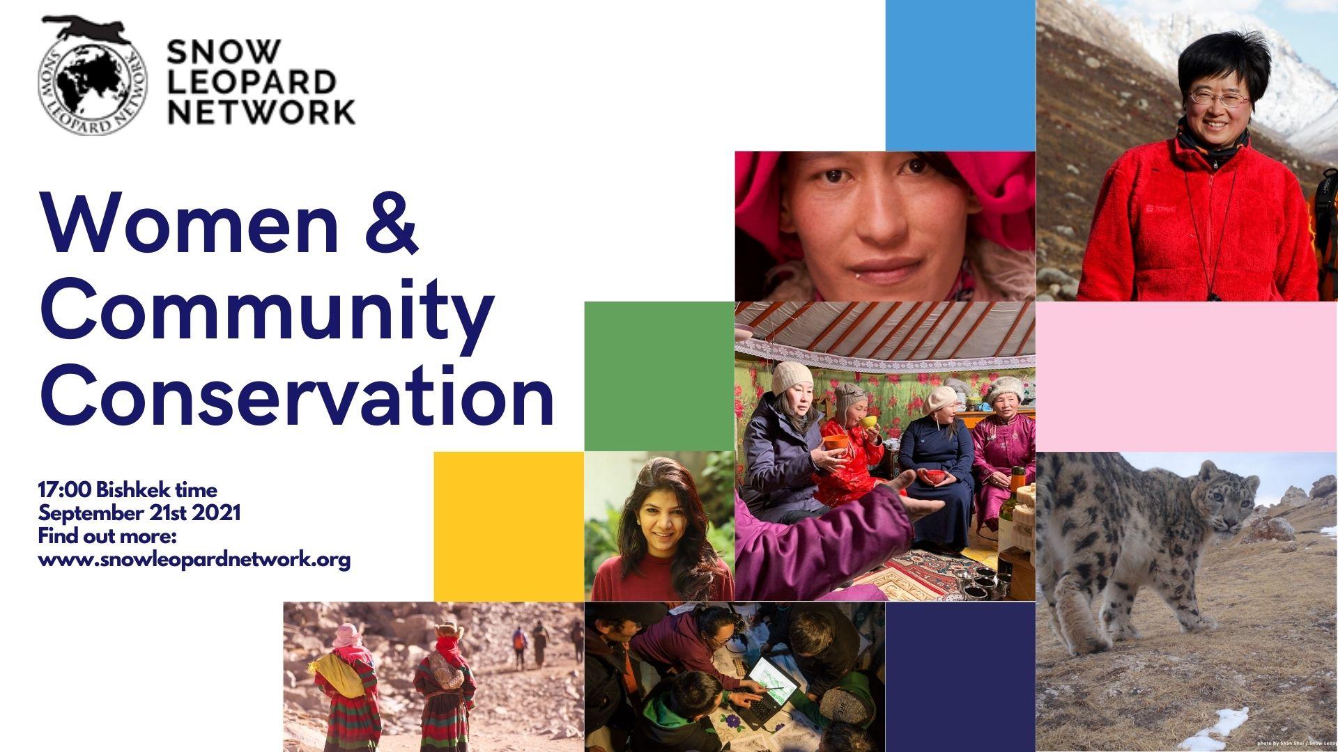 SLN Webinar: Women & Community Conservation